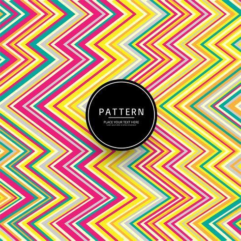 Design géométrique des lignes colorées modernes