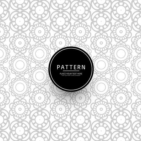 Modern floral pattern background