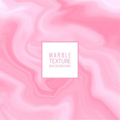 Abstract marble pink texture design vector