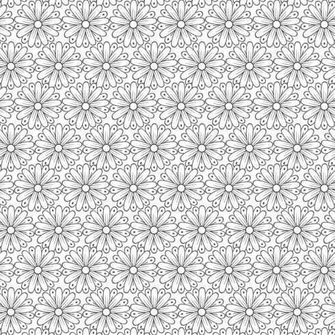 Elegant floral pattern background