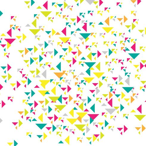 Abstract colroful triangles background illustration