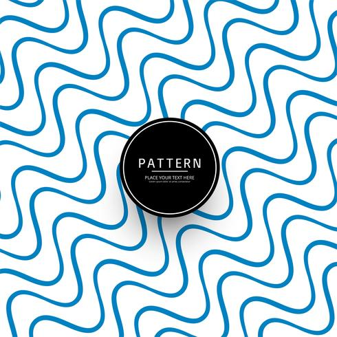 Abstract stylish lines pattern background