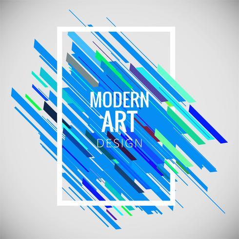 Fondo abstracto colorido arte moderno