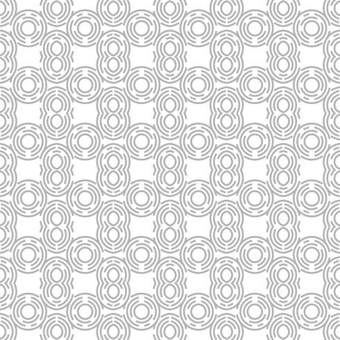 Vector de ilustración de patrón de círculo geométrico moderno