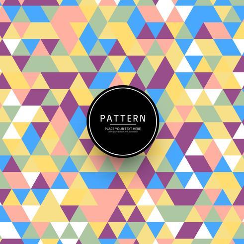 Astratto sfondo colorato motivo geometrico