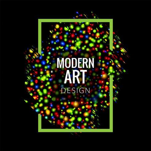 Abstrakter bunter Hintergrund der modernen Kunst
