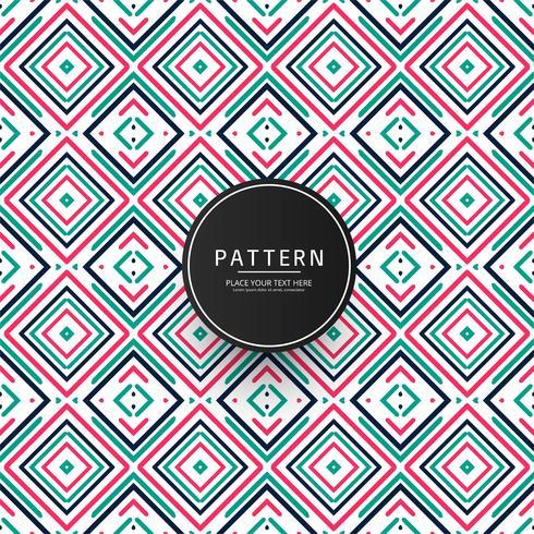 Abstrait coloré motif géométrique