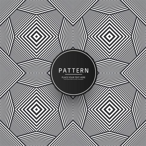 Beautiful geometric pattern background