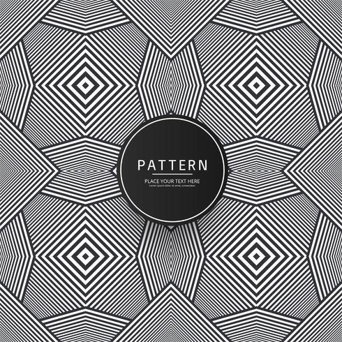 Fondo hermoso patrón geométrico