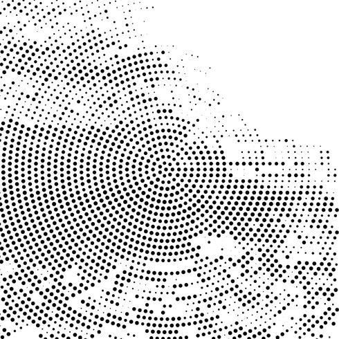 Modern circular halftone background