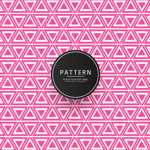 Creative geometric pattern background