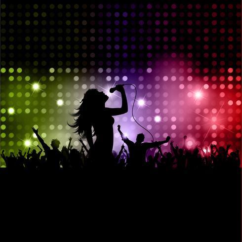 weibliche Sängerin