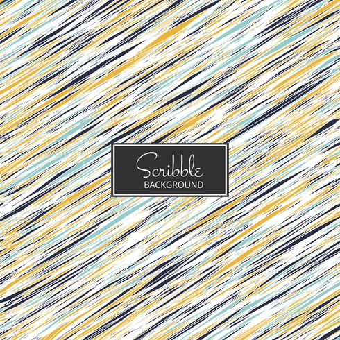 Abstract colorful scribble background