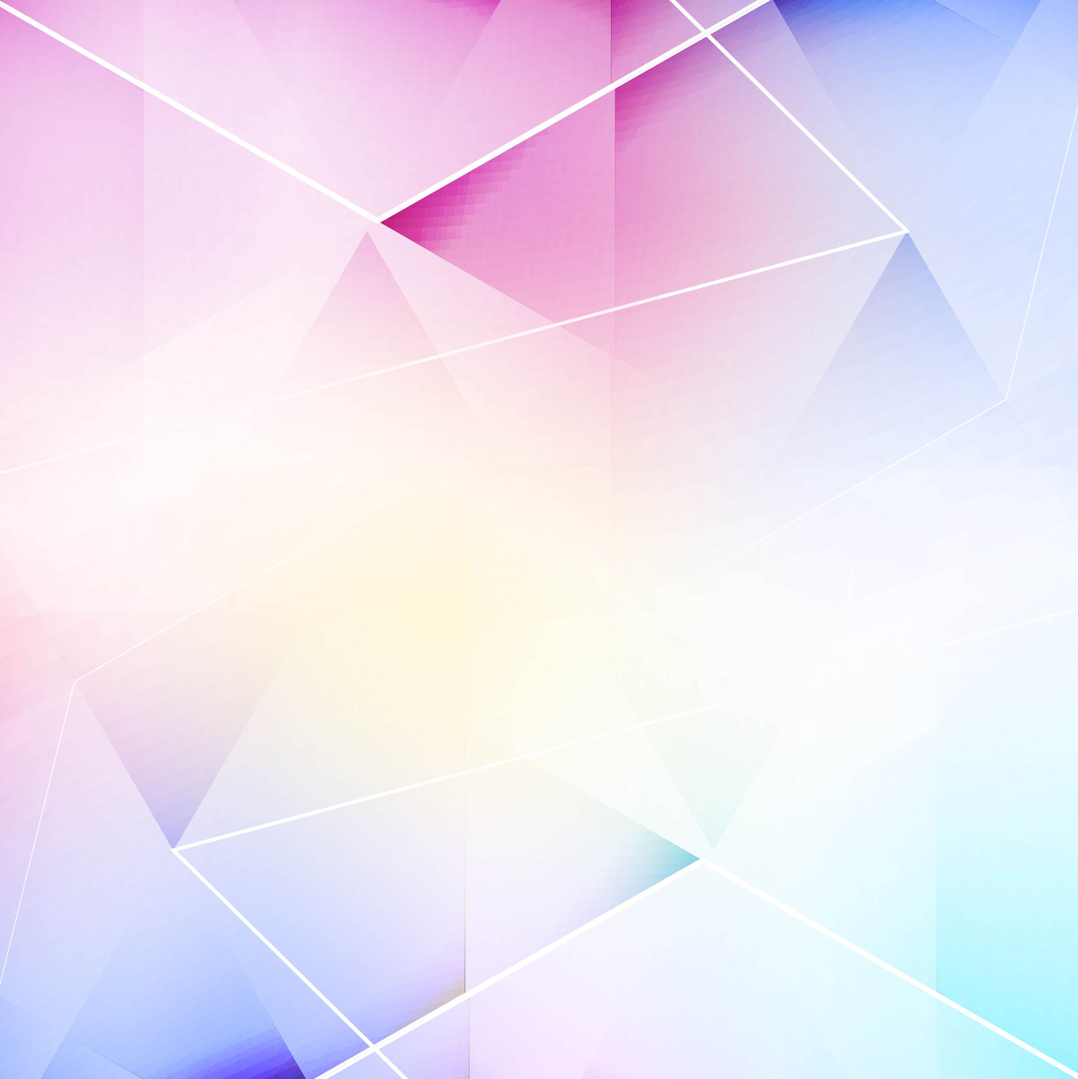 Abstract Colorful Creative Polygon Background Vector