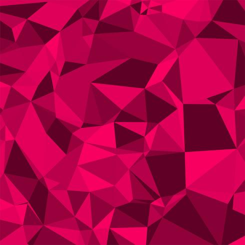 Abstract colorful creative polygon vector