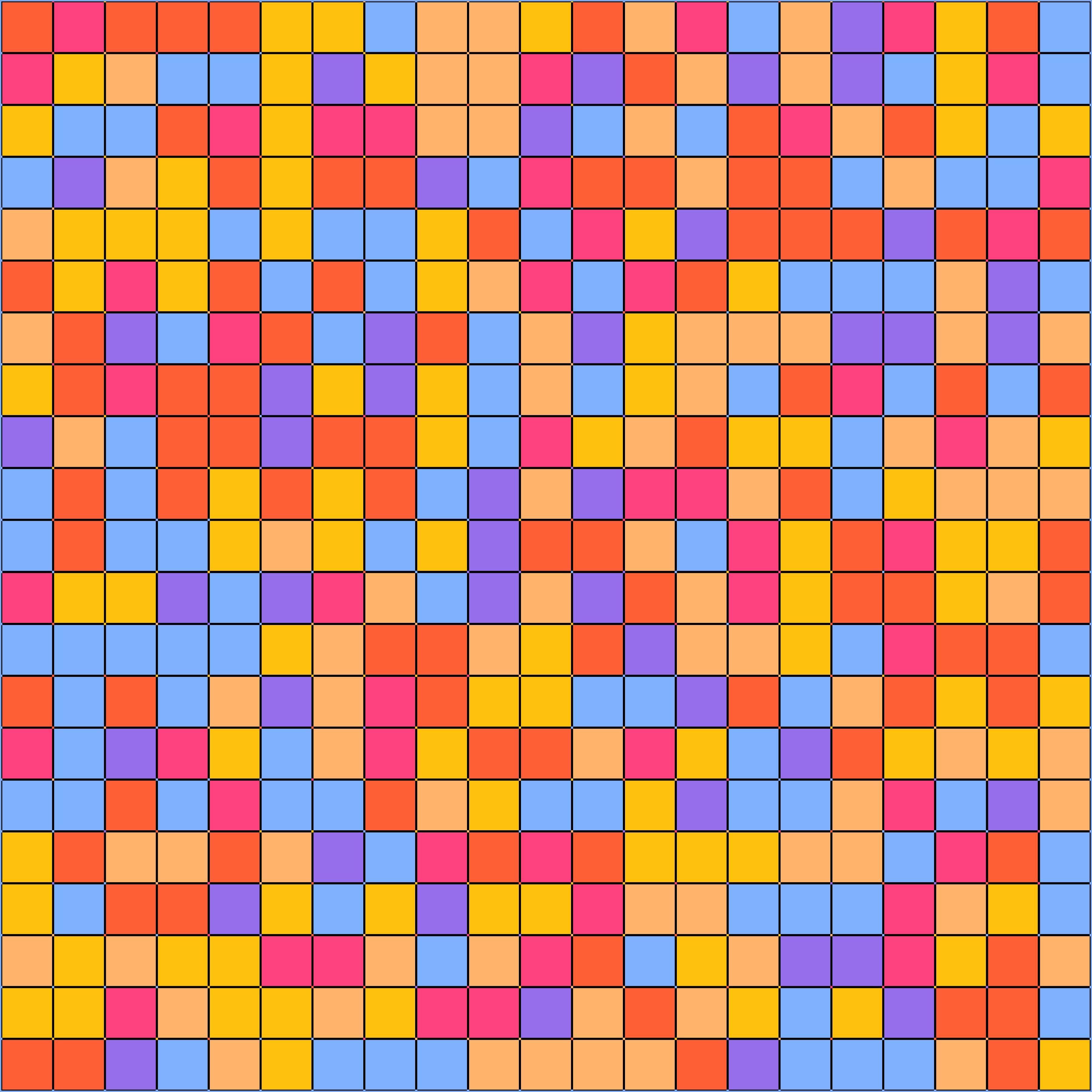 Mosaic Logo Template: Modern Colorful Geometric Mosaic Background