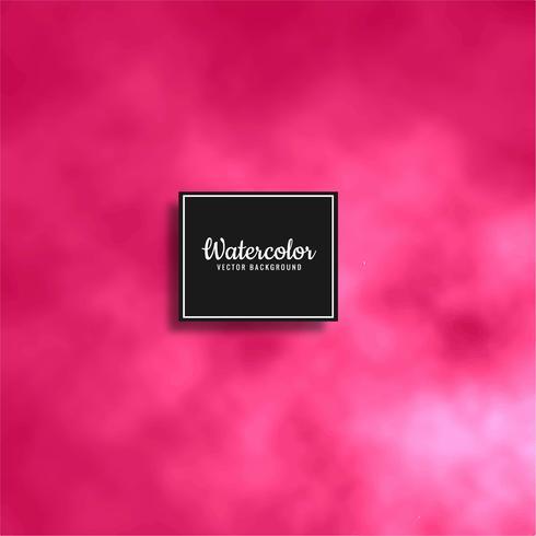 Fondo de acuarela suave rosa abstracto