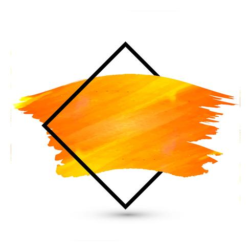 Modern bright watercolor stroke design background
