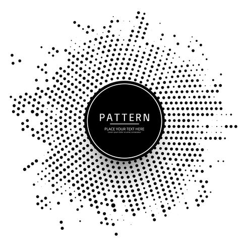 Modern halftone dotted background vector
