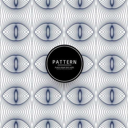 Vetor de padrão geométrico criativo abstrata