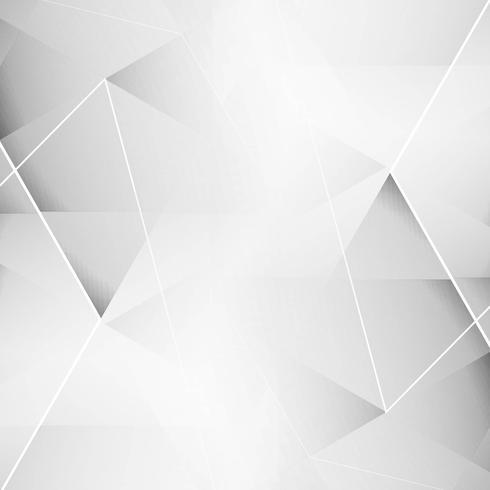 Elegant grey geometric background vector