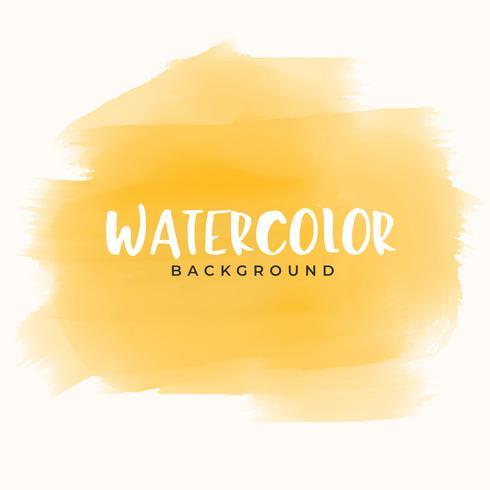 abstrakte gelbe Hand Maler Aquarell Textur