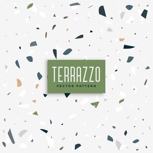 terrazzo floor pattern background design