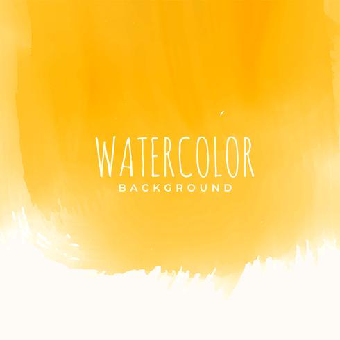 yellow watercolor texture abstract background