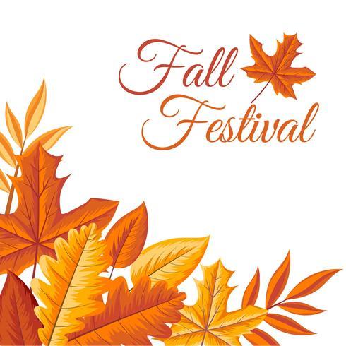 Modelo de Fest de outono