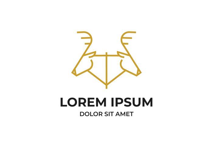 herten hoofd logo