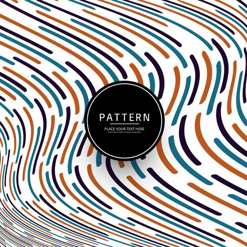Modern colorful lines pattern background
