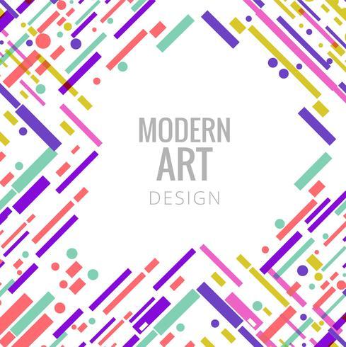 Abstrait élégant lignes colorées fond