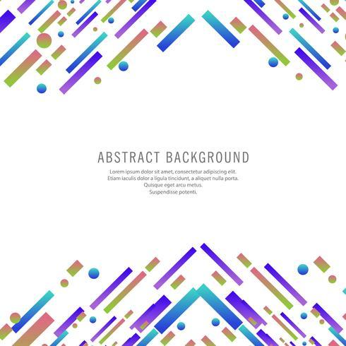 Beautiful colorful elegant lines design vector