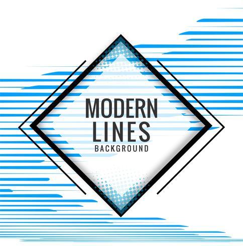 Modern blue lines background illustration