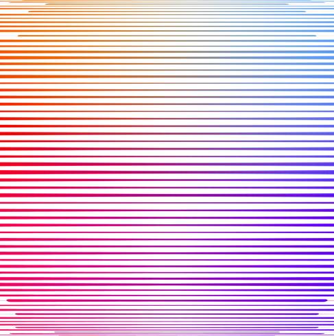 Abstract colorful lines shape background