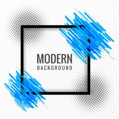 Modern stylish banner background