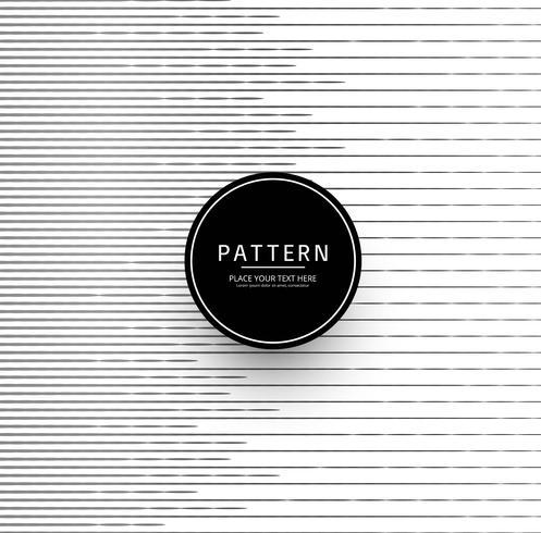 Moderne lijnen vorm patroon ontwerp