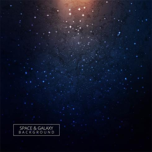 Universe galaxy shiny background vector