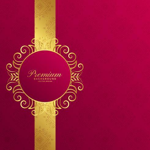 design de fundo dourado de convite real