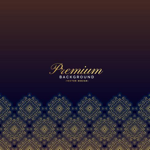 design de fond premium luxe vintage