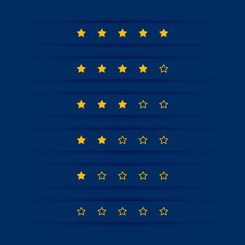 conception simple symbole étoile