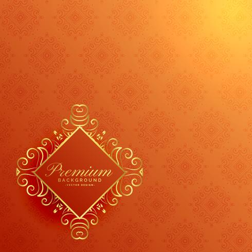 Stylish orange golden invitation background download free vector stylish orange golden invitation background stopboris Images
