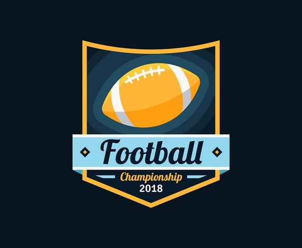 American Football Embleme