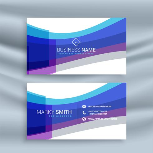 Abstract blue business card template download free vector art abstract blue business card template flashek Choice Image