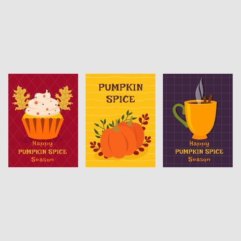 Pumpkin Spice Vector Illustration