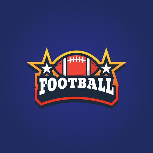 American Football Sport Emblem