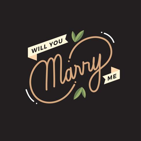 Will You Marry Me Letter