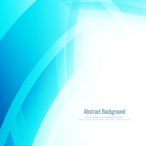 Abstracte moderne blauwe achtergrond vector