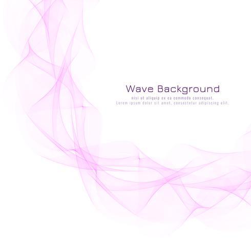 Abstract roze golvend modern ontwerp als achtergrond