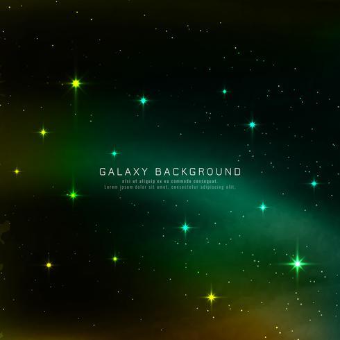 Abstarct-Galaxiehintergrund vektor